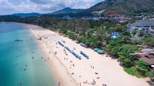 Пляж Ката Пхукет Таиланд