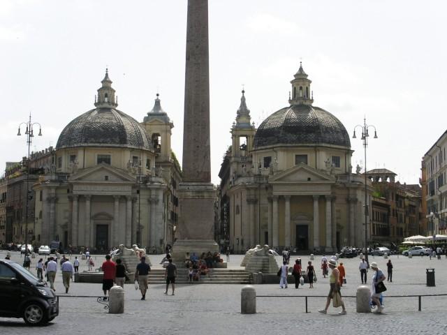 Главная площадь Флоренции названа в честь великого Микеланджело