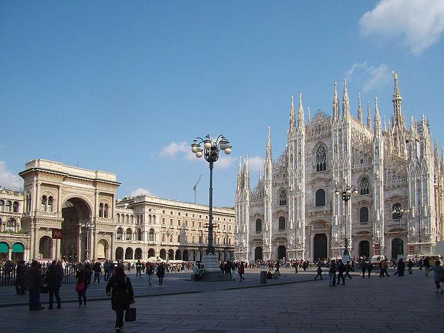 Милан - модная столица Италии