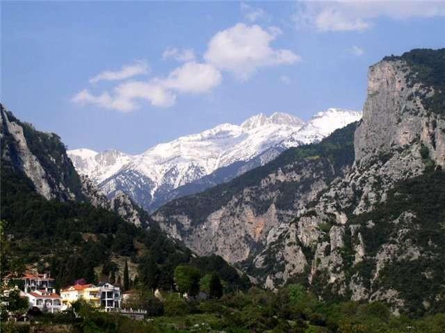 Гора Олимп Халкидики Греция