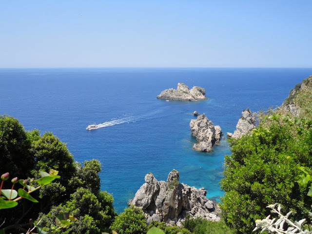 Палеокастрица Корфу Греция