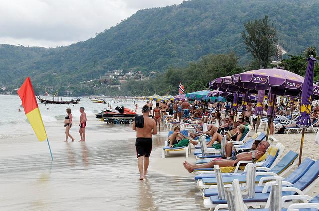 Пляж Патонг Пхукет Таиланд