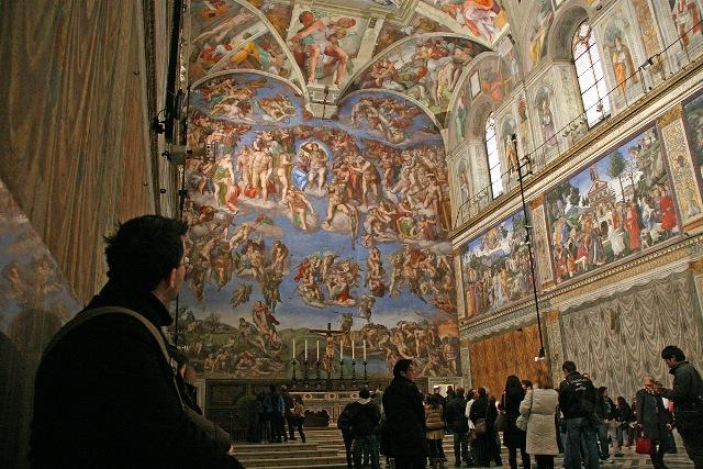 Сикстинская капелла - одна из главных достопримечательностей Ватикана