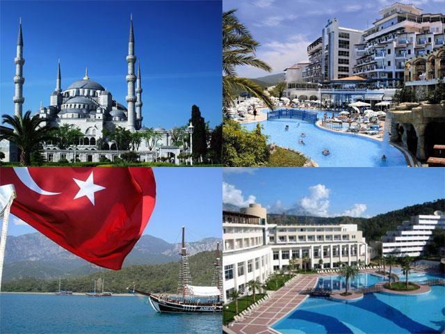 Отдых в Турции в разное время года