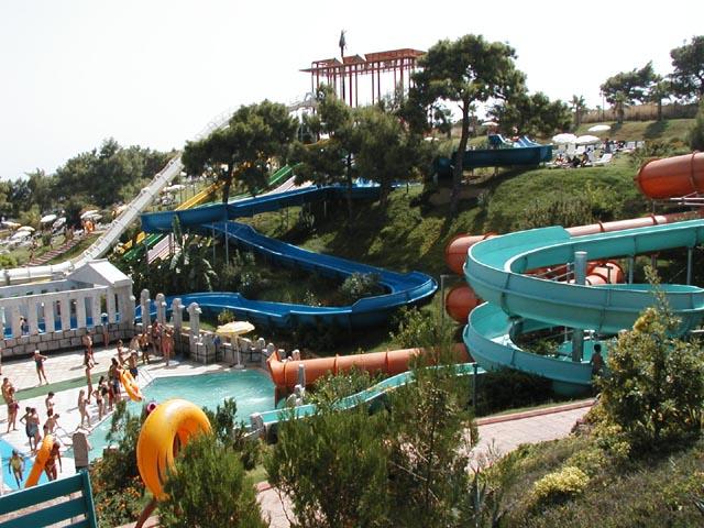 Аквапарк Water Planet в Алании