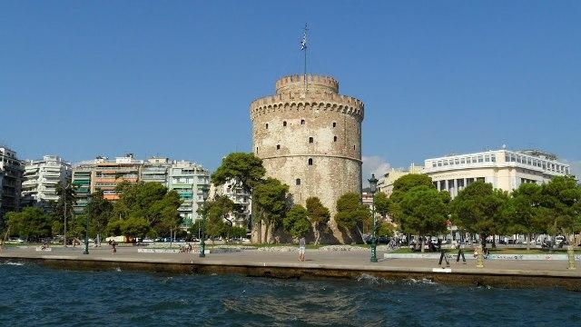 Белая башня Салоники Греция