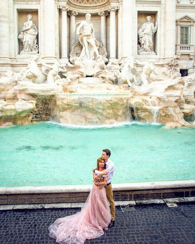 wowitaly • Fontana Di Trevi