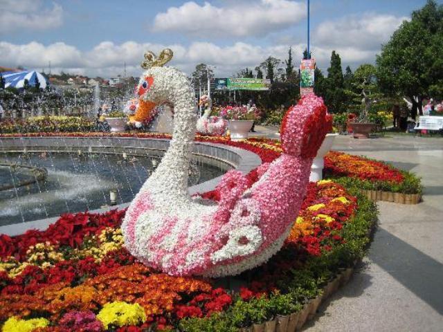 Flower Garden Park в Далате Вьетнам