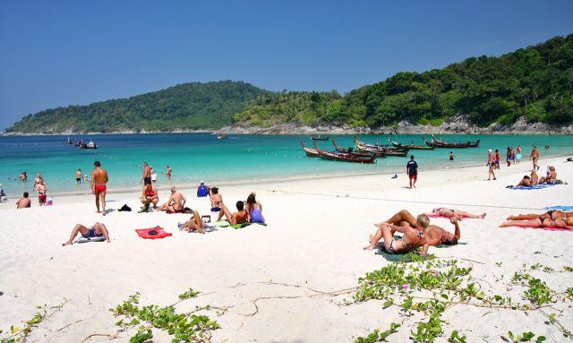 Пляж Freedom beah Пхукет Таиланд