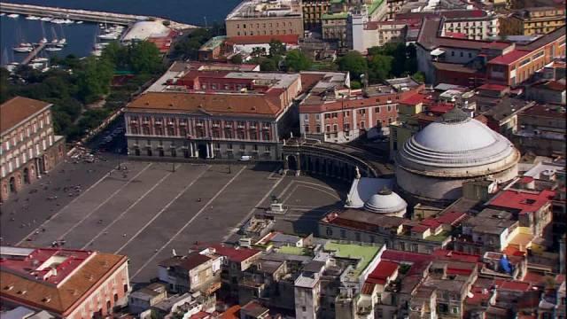 Piazza del Plebiscito Napoli Italy