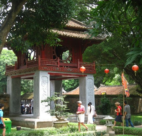 Temple of Literature в Ханое Вьетнам