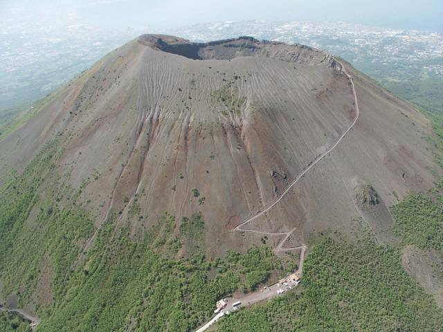 Гора Везувий