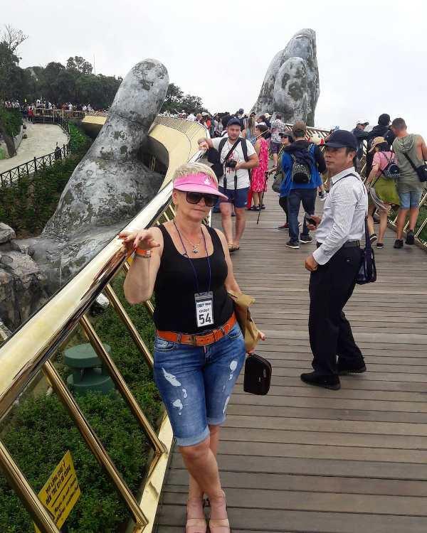 Golden Bridge Золотой мост в Дананге