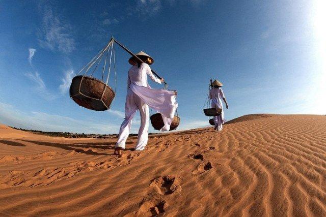 Песчаные дюны Фантхиета Вьетнам