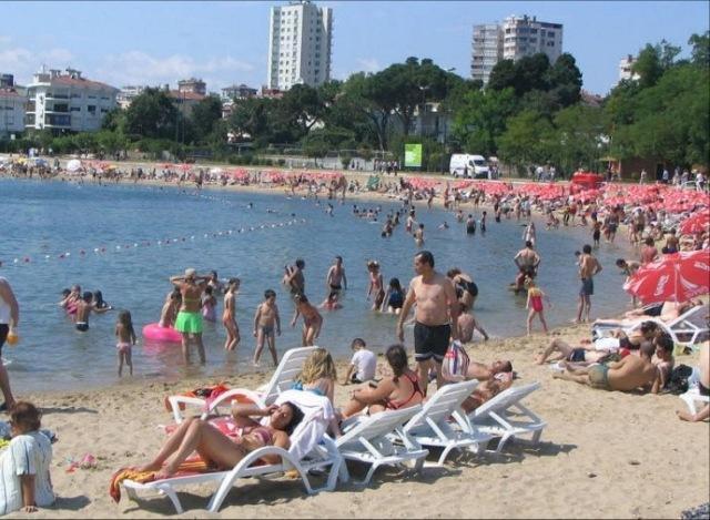 Пляж Флориа Стамбул Турция