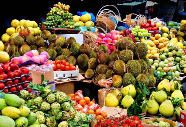 Экзотические фрукты Пхукета