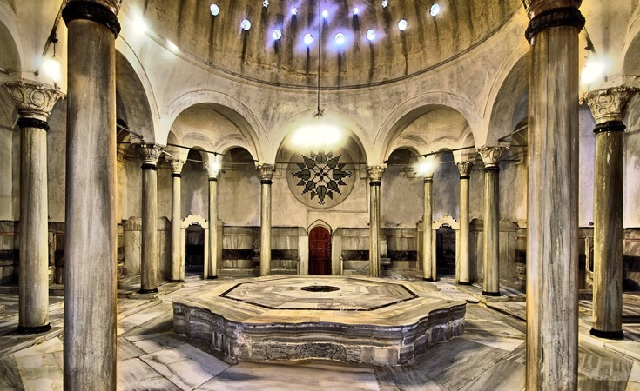 Хамам великой Роксаланы Стамбул Турция