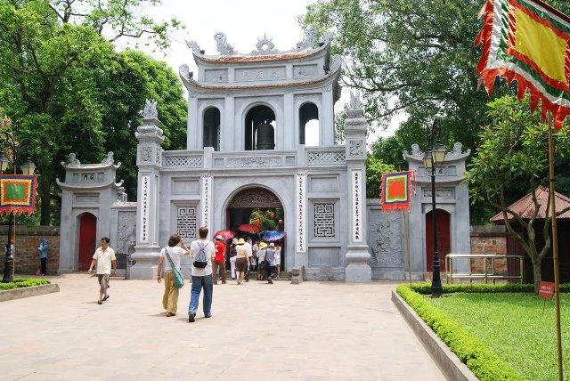 Храм литературы в Ханое Вьетнам