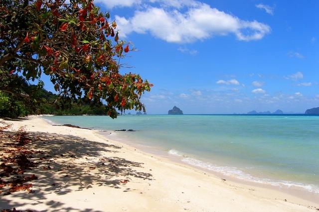 Сансет Бич Остров Крадан Таиланд