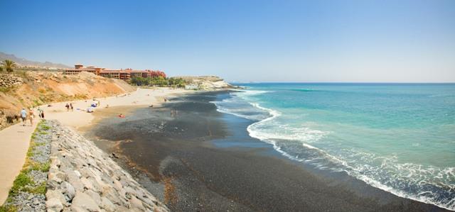 Пляж La Caleta Beach Тенерифе Испания