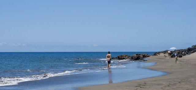 Пляж La Tejita beach Тенерифе Испания
