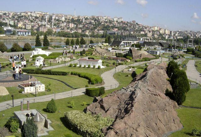 Парк развлечений Миниатюрк Стамбул Турция