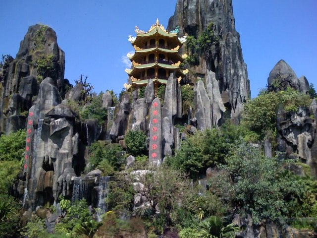 Мраморные горы Дананг Вьетнам