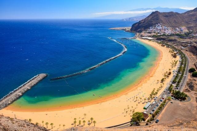 Playa de las Teresitas Тенерифе Испания