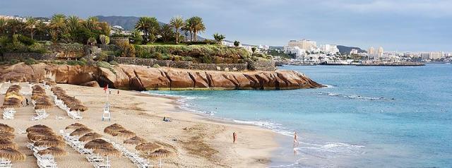 Пляж Playa del Duque Тенерифе Испания