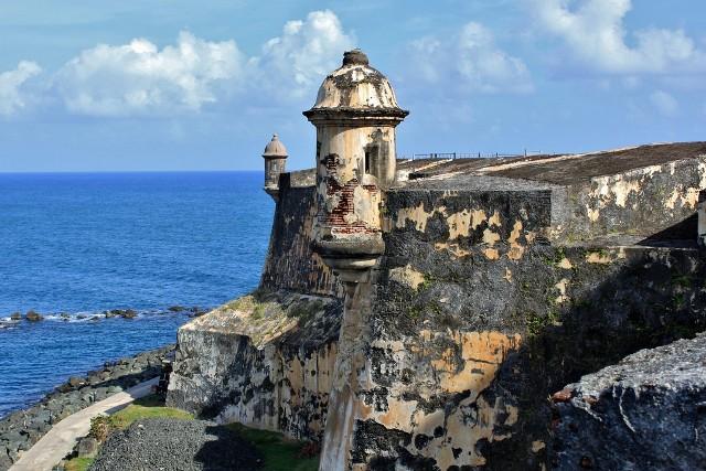 Форт Фуэрте-Сан-Фелипе-дель-Моро Пуэрта-Плата Доминикана