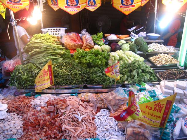 Цены на тайских рынках