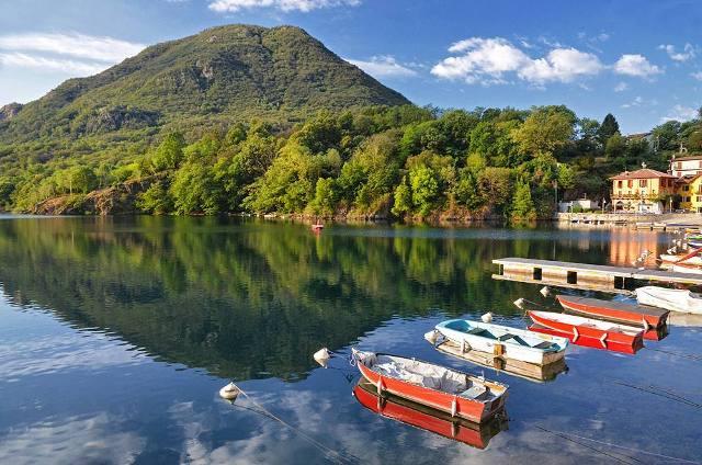 Озеро Мергоццо, Италия