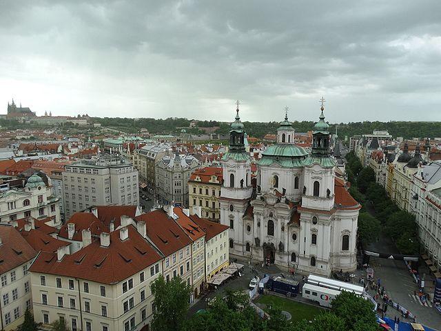Собор Святого Николая в Праге Чехия