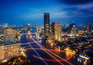Ночной Бангкок (Таиланд)