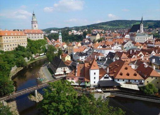 Чешский Крумлов в Чехии