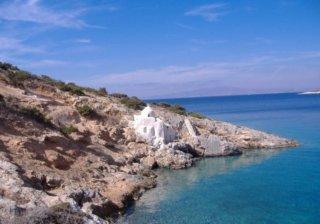 Деревенька Георгиопулис на Крите в Греции