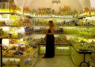 Один из магазинов в Искья Понте (Италия)