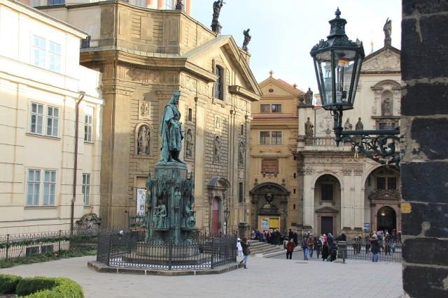 Кржижовницкая площадь в Праге Чехия