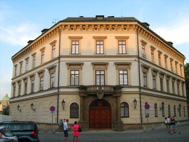 Лихтенштейнский дворец в Праге Чехия