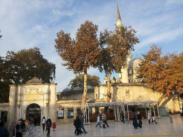 Мечеть Султана Эйюпа Стамбул Турция