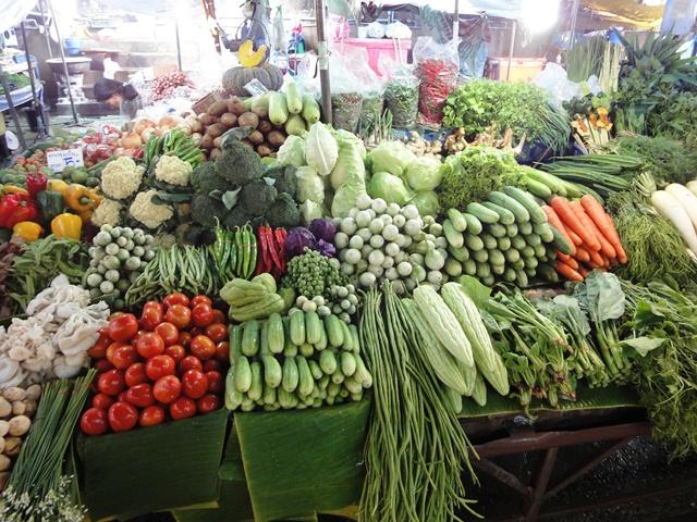 Продуктовый рынок Самуи
