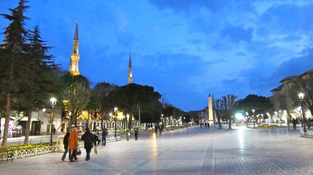 Площадь Султанахмет Стамбул Турция