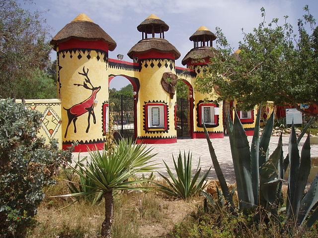 Зоопарк Фригия в Хаммамете (Тунис)