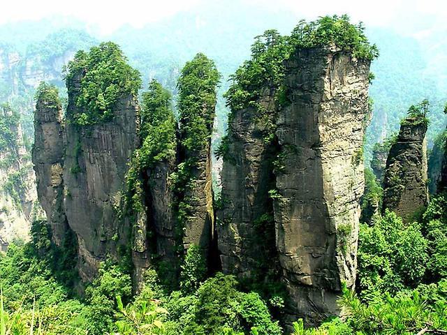 Горы Аватар в Китае