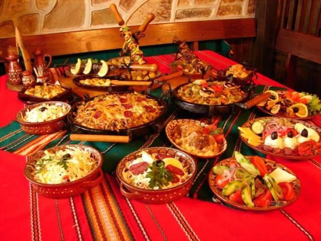 Национальная болгарская кухня