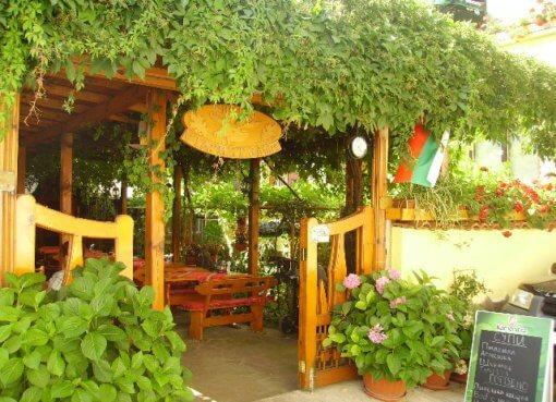 Ресторан в Золотых Песках (Болгария)