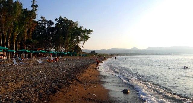 Пляж Дасуди в Лимассоле