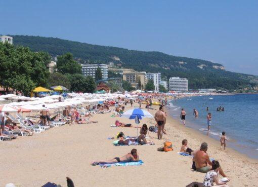 Пляжный курорт Золотые Пески в Болгарии