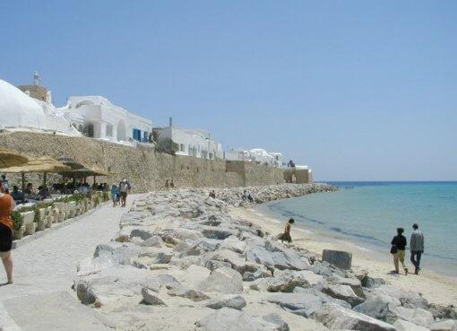 Пляжный курорт Хаммамет в Тунисе