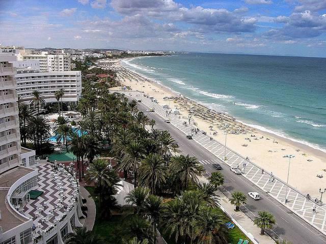 Пляжный курорт Сусс в Тунисе